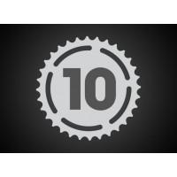 10 sebességes